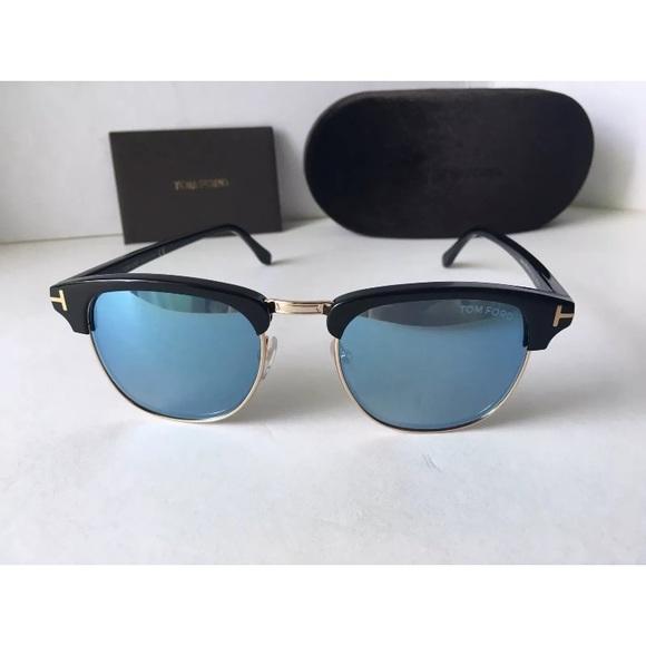 c4f36aa213 Tom Ford Henry TF 248 05X Black Blue Clubmaster